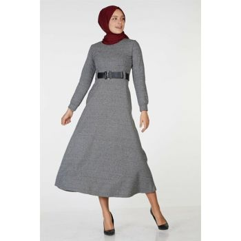 Women's Gray Dress Nassah-UU-3010
