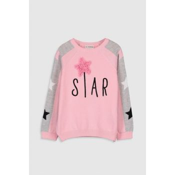 Girl's PINK GAT Sweater 9WP524Z4