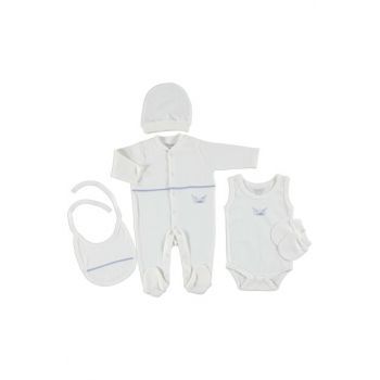 Baby Sea Adventure Hospital Set with Jumpsuit 5 pcs 19YBBEESET006