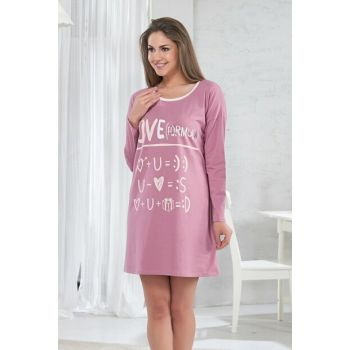 Women's Rose Nightgown 10107