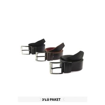 Multicolor Men's Artificial Leather Belt TMNAW20KE0045