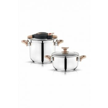 Galaxis Pressure Cooker - 4 and 6.5 Liters - Gold 1S270-27001-GUL01
