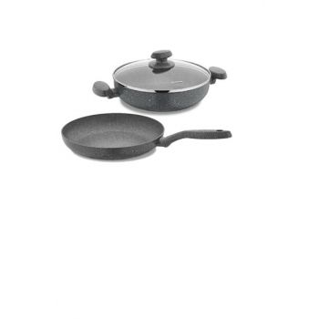 Mia Granite 3 Pieces Cookware Set 9080201A5053