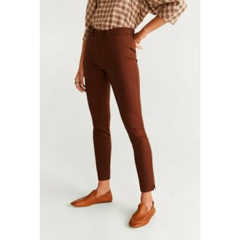 Women's Coffee Straight Cut Long Pants 57047659