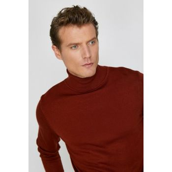 Men's Red Straight Sweater 0KAM92008LT