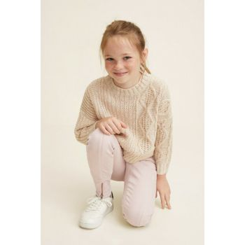 Light Pink Girl Trousers 34030761