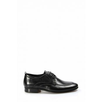 Genuine Leather Black Men Classic Shoes 1884528