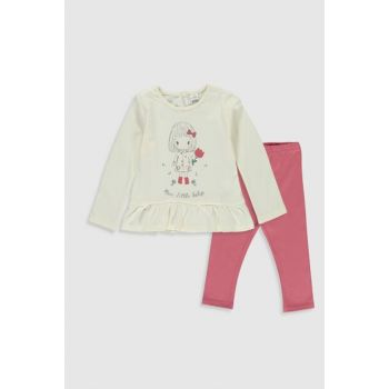 Baby Girl Cream Color Fdw Suit 9WT396Z1