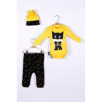Baby Boy 3 Pieces Badge Suit 5074031