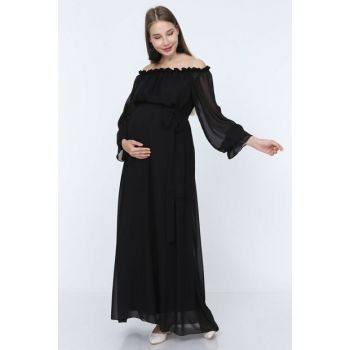 Maternity Dress Black ML010200X