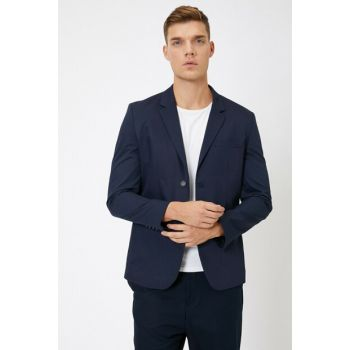 Men's Navy Blue Jacket 0KAM59112NW
