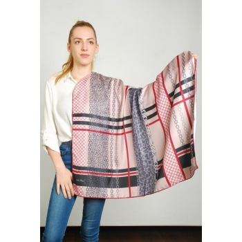 Women Multi Color Sport Polyester Scarf 9351336