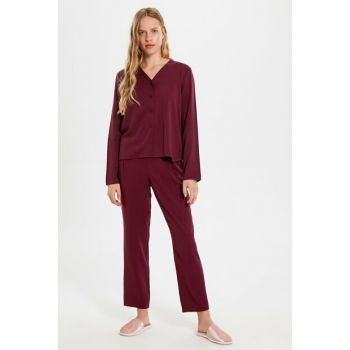 Women's Plum Pajamas Set 9WV140Z8