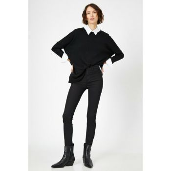 Women Black Trousers 0YAK47335DD