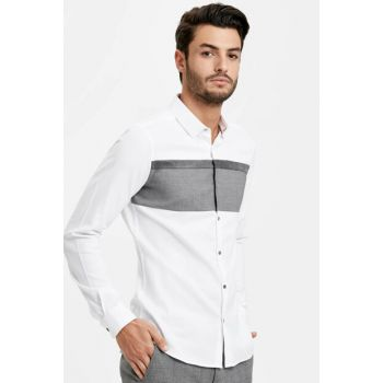 Men's White Shirt 8W1038Z8