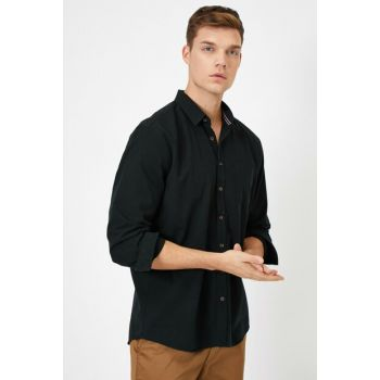 Men's Black Shirt 0YAM61453NW