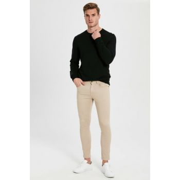 Men's Beige Trousers 9WQ576Z8