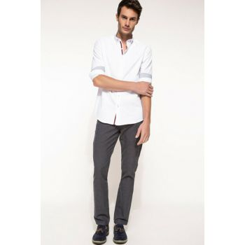 Men's Paco Regular Fit Trousers I3841AZ.17WN.IN75