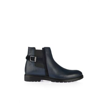 Genuine Leather Lacvert Men's Boots & Booties 02BOY164930A680