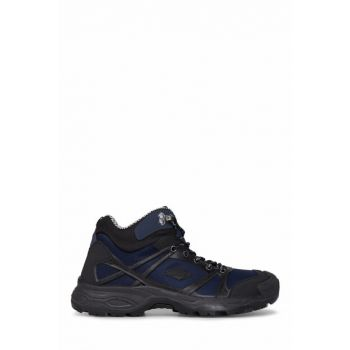 Waterproof Mens Navy Blue Boots - M5227T