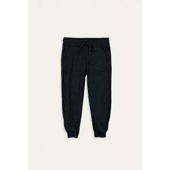 Boys' Navy Blue Melange Lbf Pants 9W5656Z4