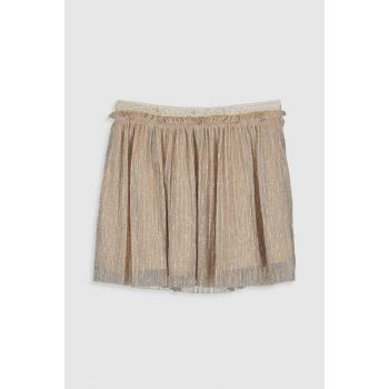 Girls' GOLD COFFEE CW9 Skirt 9WQ604Z4