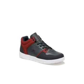 Navy Blue Bordeaux Men's Sneaker ASGAR HI 9PR