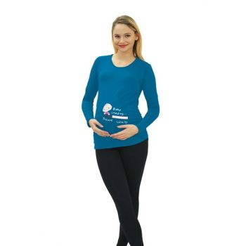 Maternity Baby Loading T-shirt Long Sleeve 3135T