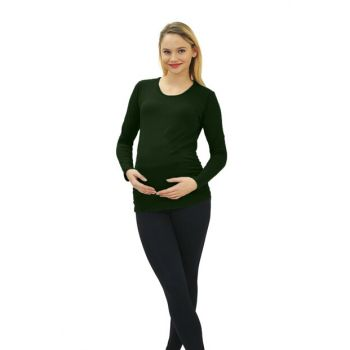 Pregnant Baby Loading T-shirt Long Sleeve 3131H