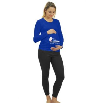Maternity Baby Loading T-shirt Long Sleeve 3135SKS