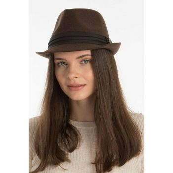 Trilby Women Hat Brown VG-17512-4