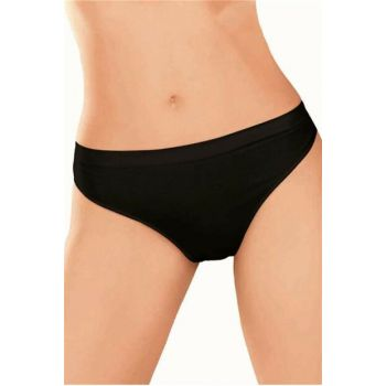 Women's Black Elite Life Seamless Slip Briefs 810 4045