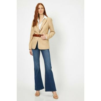 Women Blue Trousers 0YAK47138MD