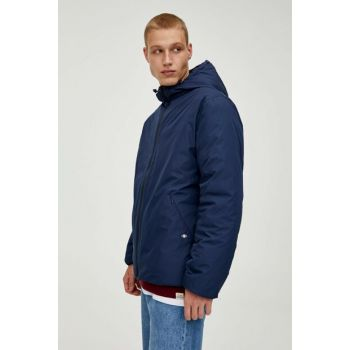 Men's Navy Blue Double Sided Inflatable Jacket 09714505