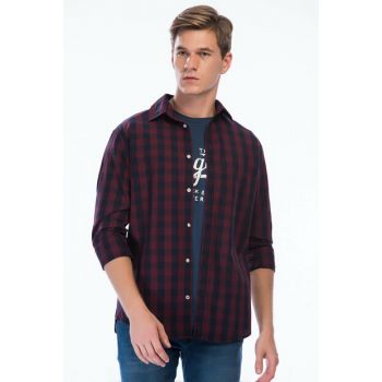 Shirt - Gingham Shirt LS 12136987