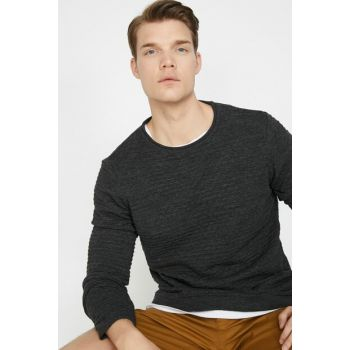 Men's Green Crew Neck Pullover 0KAM91603LT