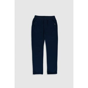 Boys' NAVY Blue Trousers 0S0983Z4