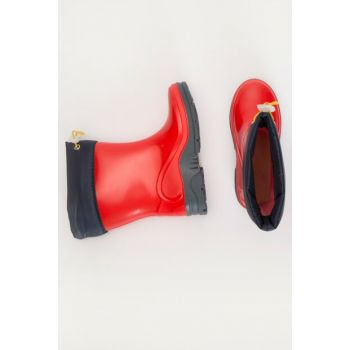 Boys Red Crt Boots 9WL021Z4