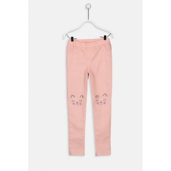 Girls' Matte Pink Fkr Pants 9WG643Z4