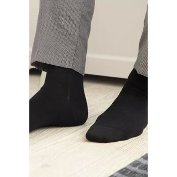 Tilleus Bamboo Socks for Men - Black 1KCORP0163-8682116129794