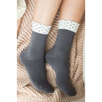 Diamanta Women's Socks - Anthracite 1KCORP0144-8682116127295