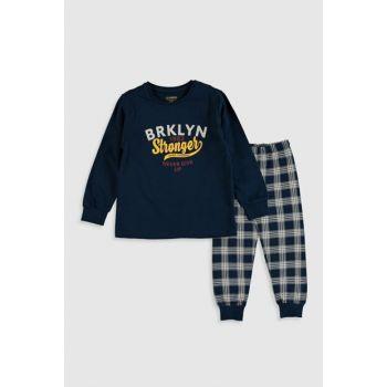 Boys' Navy Blue Jc7 Pajamas Set 9WL600Z4 Click to enlarge