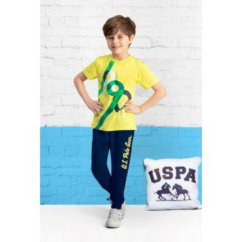 Licensed Lemon Yellow Boy Pajama Set US-409-C