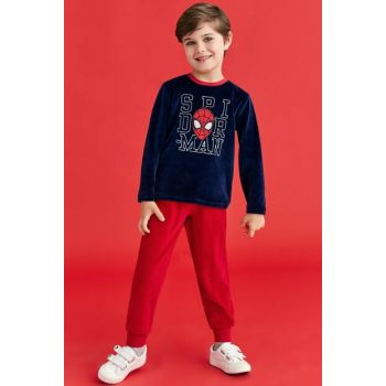 Spiderman Spiderman Boys Children Pajamas Set 3-8 Age 4047 D4047-C