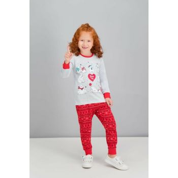 Karmelanj Girls' Sleepwear Set RP1608-C-V1