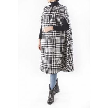 Crowbar Patterned Poncho 80503sb MDAGLY80503SB