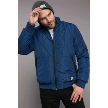 Men's Indigo Blue Inflatable Coat I8061AZ.18WN.IN130