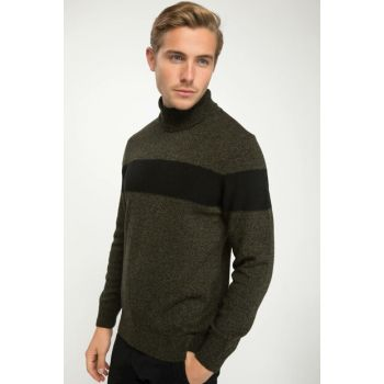 Men's Turtleneck Sweater J4483AZ.18WN.GN804