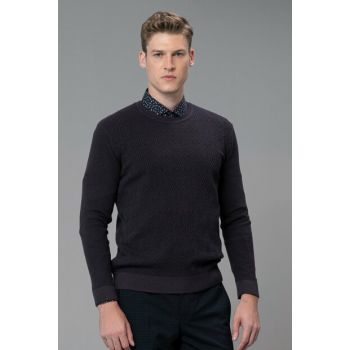 Men's Sweater Purple 112090033100850