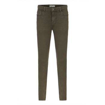 Men's Brown Slim Fit Cotton Trousers 349260